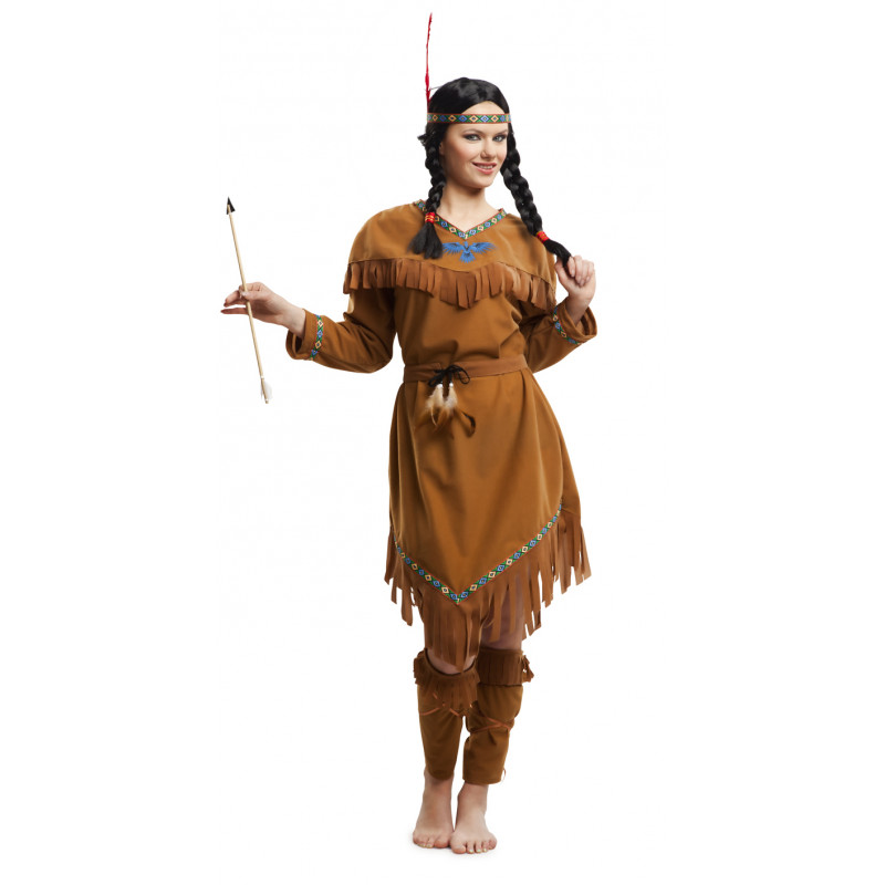 Disfraz De India Americana Para Mujer Comprar Online