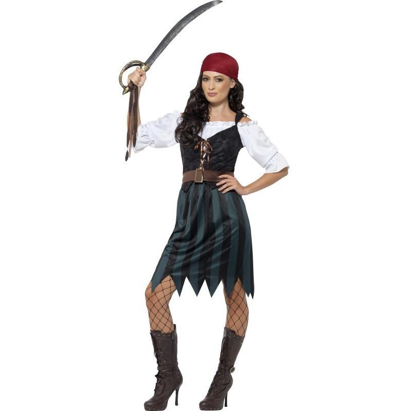 Disfraz de pirata del caribe para mujer comprar online - Disfraz marinera casero ...