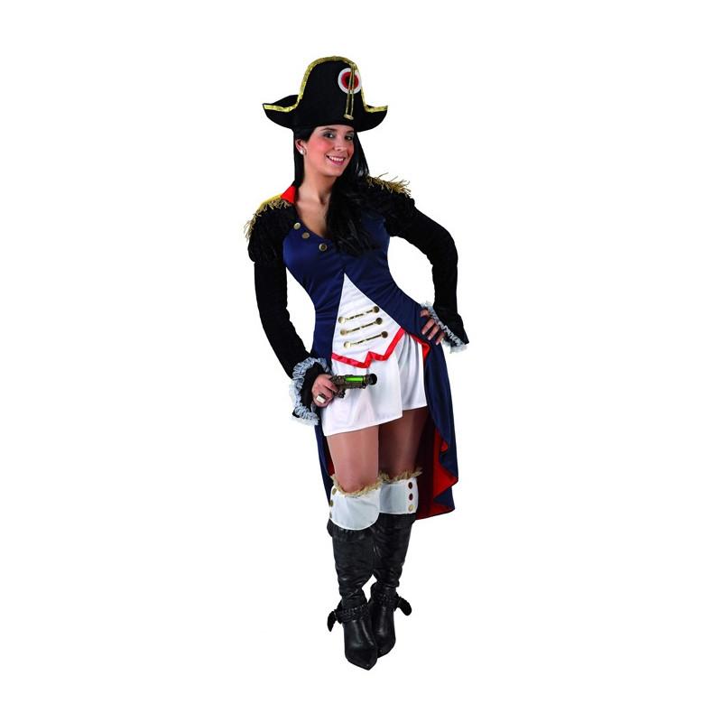disfraz napoleon mujer