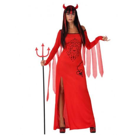 Mujer Demonio Roja