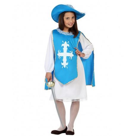 Disfraz de Niña Mosquetera