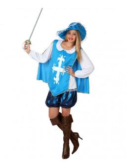 Disfraz de Mujer Mosquetera