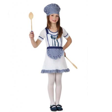 Disfraz de Cocinera Niña