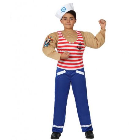 Disfraz de Marinero con musculos