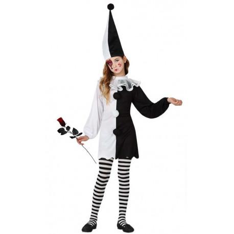 Disfraz de Niña Pierrot