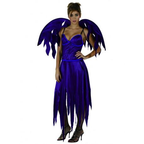 Disfraz de Demonia Morada