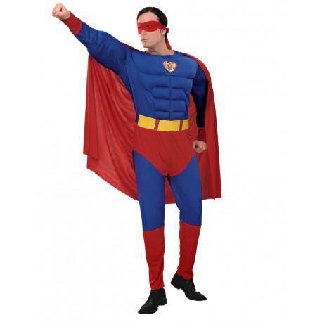Disfraz de Superman con musculo
