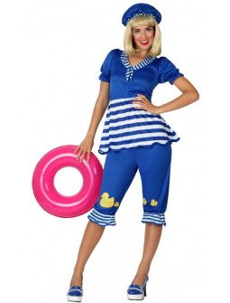 Disfraz de Mujer Bañista