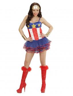 Disfraz de Superheroina sexy para mujer
