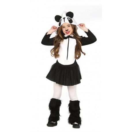 Disfraz de Oso Panda para niña