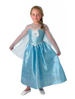 Disfraz de Elsa Frozen lujo