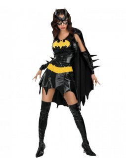 Disfraz de mujer Batgirl