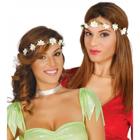 Diadema Hippie de Flores