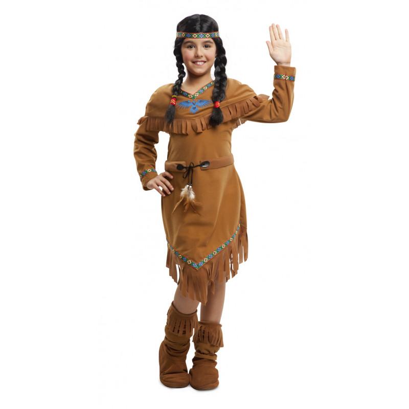 Disfraz De India Americana Para Nina Comprar Online - Disfraz-india-americana