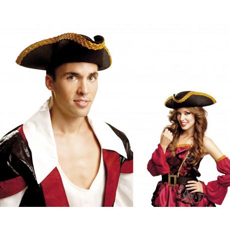 Sombrero de Pirata Triangular