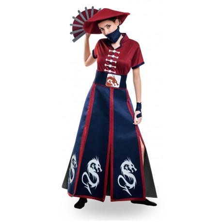 Disfraz de Luchadora Ninja para Mujer