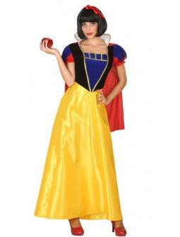 Disfraz de Blancanieves Largo para Mujer