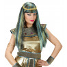 Peluca Cleopatra con mechas y lame