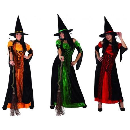 Disfraz de Bruja en colores