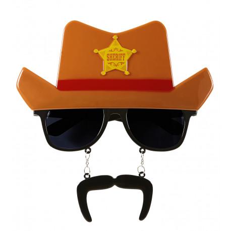 Gafas de Vaquero para Photocall