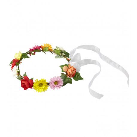 Cinta Floreada para la Cabeza