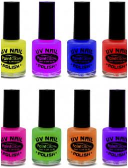 Esmalte de Uñas Fluorescente UV