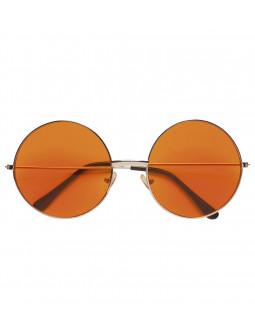 Gafas Redondas Naranjas Años 70