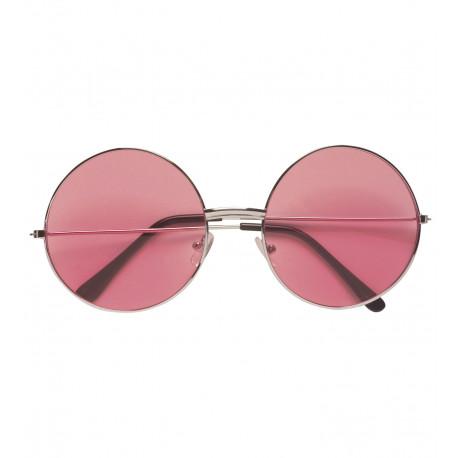 Gafas Redondas Rosas Años 70