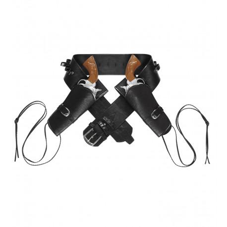 Cartucheras con Cinturón Negro Premium
