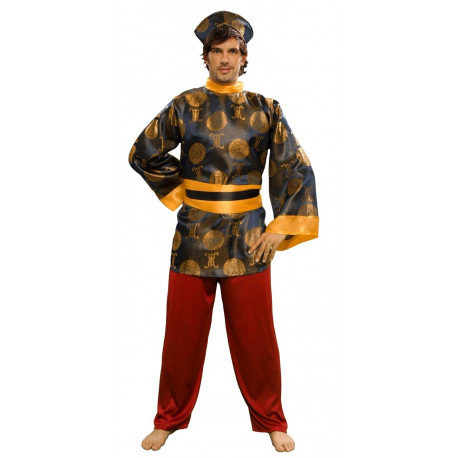 Disfraz de Chino Morado