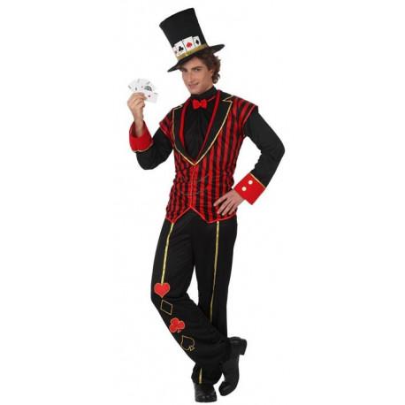 Disfraz de Croupier Poker