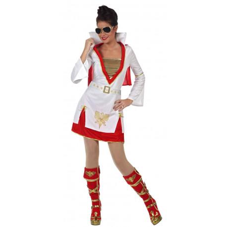 Disfraz de Mujer Elvis