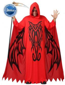 Demonio con tunica roja