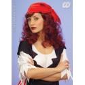 Peluca Pirata, en rubio, moreno y caoba