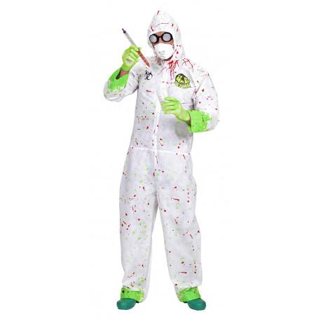 Disfraz de Quimico loco - Biohazard -