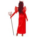 Disfraz de Diablesa con Alas y Cuernos