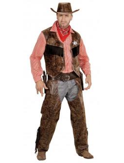 Disfraz de Cowboy con camisa de cuadros