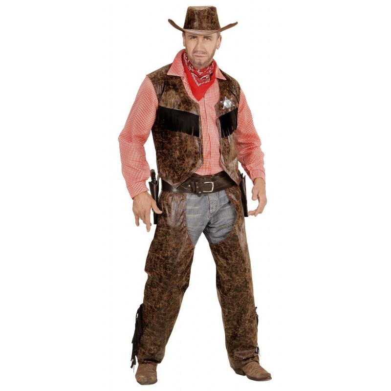 Disfraz de Cowboy con camisa de cuadros ... ff6359fca6c