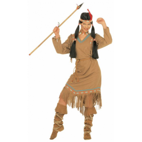Vestido de India