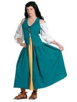 Vestido campesina Medieval