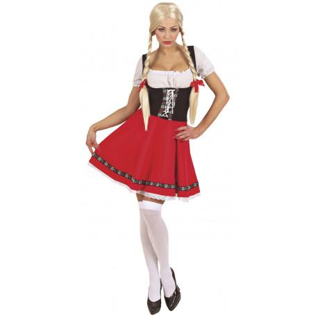 Disfraz de Heidi de las montañas