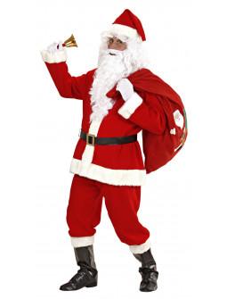 Disfraz de Papa Noel Lujo - Con peluca y barba -