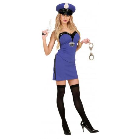 Disfraz de mujer Policia