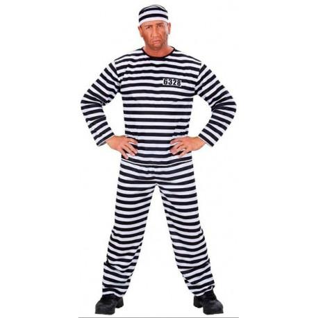 Disfraz de Preso Hombre