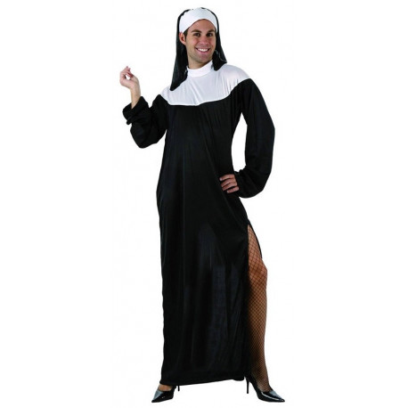 Disfrazd de hombre Monja