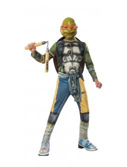 Disfraz de Tortuga Ninja Michelangelo Niño