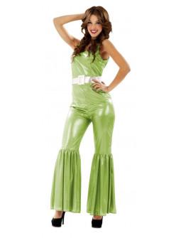 Disfraz de Discotequera Verde
