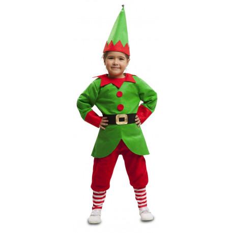 Disfraz de Elfo de Papá Noel para Niño