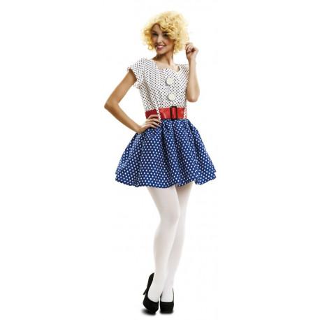 Disfraz de Pop Art Años 50 para Mujer
