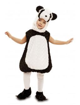 Disfraz de Oso Panda de Peluche para Niños